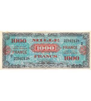 BILLET DU TRESOR, 1000...