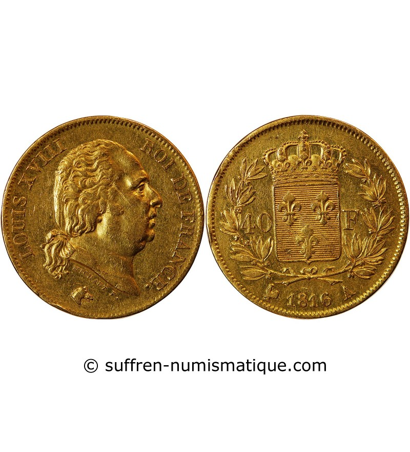40 FRANCS OR NAPOLEON I  1806A