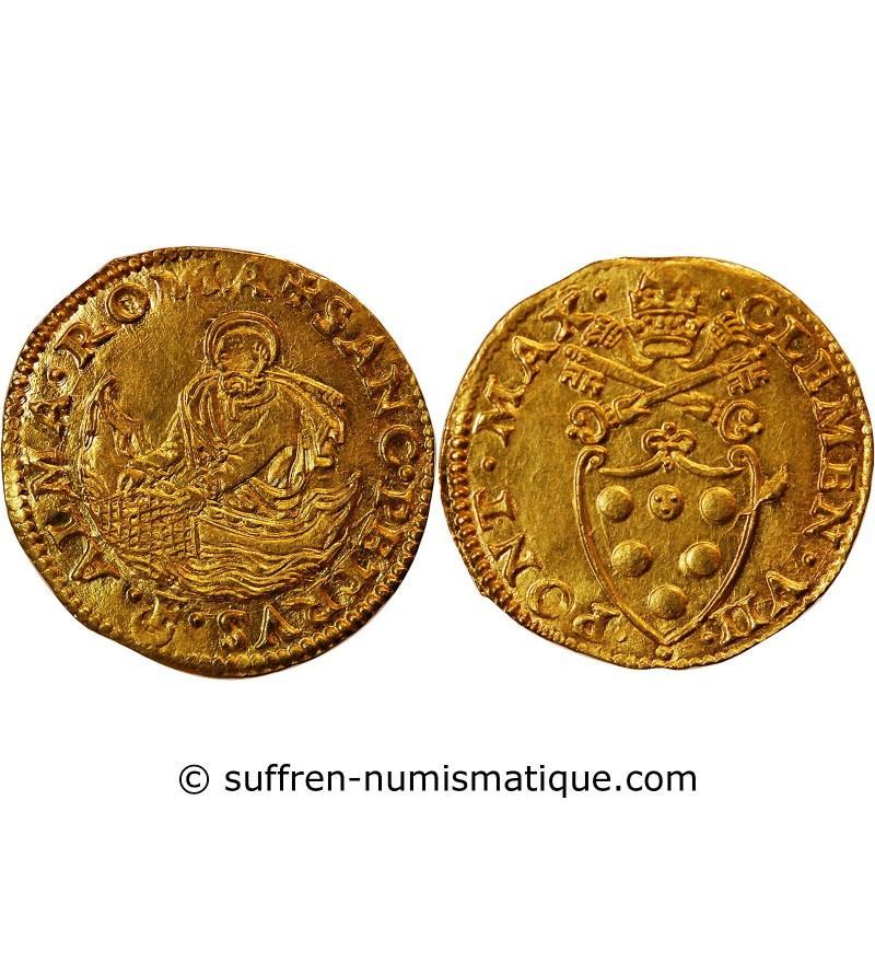 VATICAN, CLEMENT VII, Di Giuliano de Médicis - FLORINT D'OR 1523 / 1534