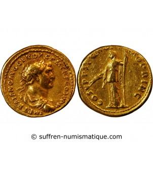 TRAJAN - AUREUS OR ROME...