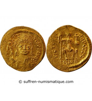 JUSTIN II - SOLIDUS OR...