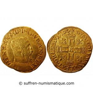 HENRI II - HENRI D'OR 1550...