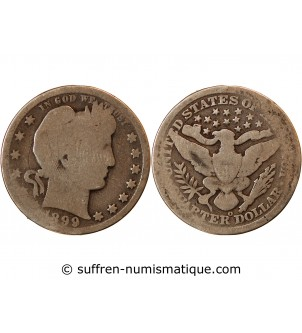 USA, BARBER - QUARTER...