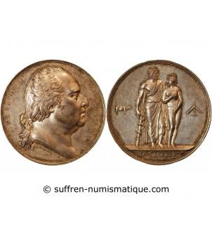 LOUIS XVII, Médaille de la...