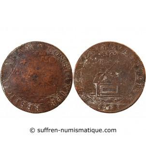 LOUIS XIII – JETON cuivre 1625