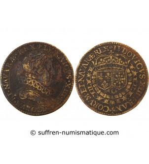 LOUIS XIII, buste rare –...