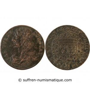 LOUIS XIII – JETON cuivre 1636