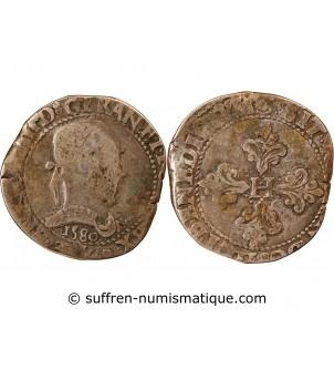 HENRI III - FRANC ARGENT 1580