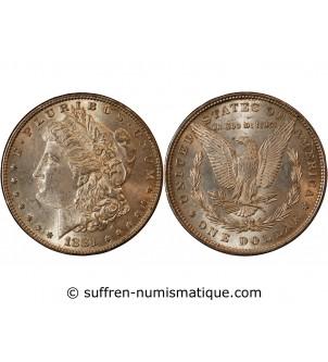 USA - DOLLAR ARGENT 1881...