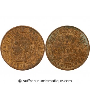CERES - 1 CENTIME 1878 A PARIS