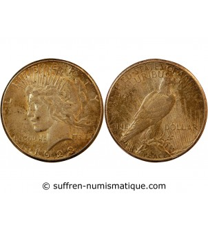 USA - DOLLAR ARGENT 1923...