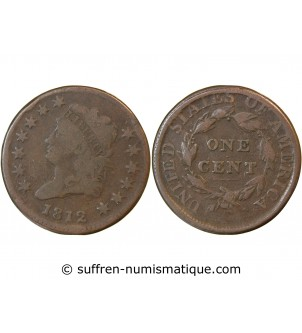 "USA - ONE CENT ""Capped..."