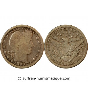 "USA - 25 CENTS ""Barber..."