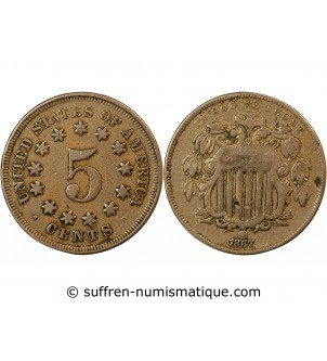 "USA - 5 CENTS ""Union..."
