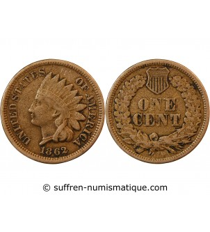 "USA - ONCE CENT ""Indian..."