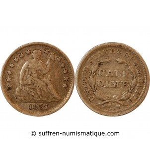 "USA - HALF DIME ""Seated..."