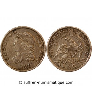 "USA - 5 CENTS ""Libert Cap..."