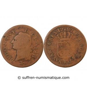 LOUIS XVI - SOL 1787 R ORLEANS