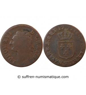 LOUIS XVI - 1/2 SOL 1777 W...