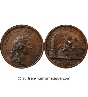 LOUIS XIV - MEDAILLE MAUGER...