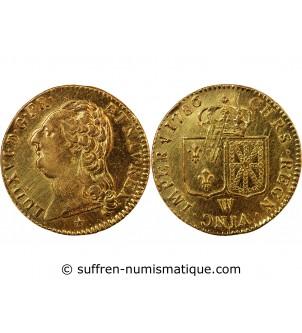 LOUIS XVI - LOUIS D'OR 1786...