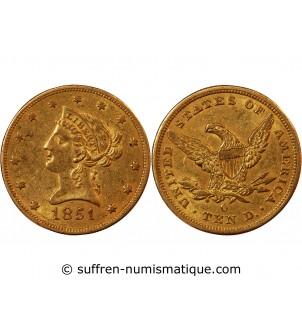 USA, LIBERTY - 10 DOLLARS...