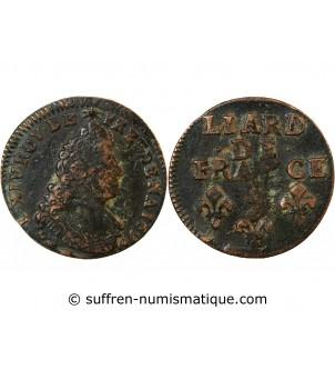 LOUIS XIV - LIARD 1696 I...