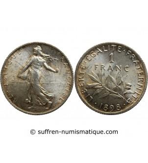 1 FRANC SEMEUSE 1898