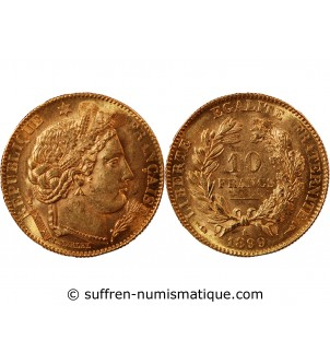 CERES - 10 FRANCS OR 1899 A...