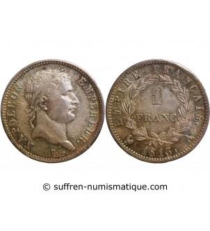 1 FRANC NAPOLEON I  1813 A...