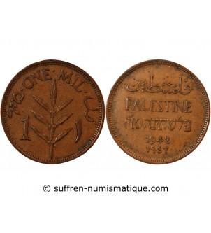 PALESTINE - 1 MIL 1942