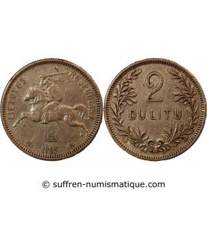 LITUANIE - 2 LITU ARGENT 1925