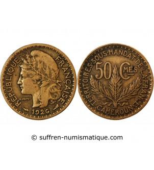 CAMEROUN - 50 CENTIMES 1926