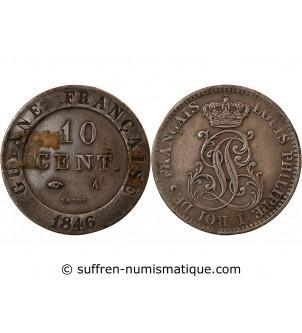 GUYANE, LOUIS-PHILIPPE - 10...