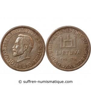 LITUANIE - 10 LITU ARGENT 1938