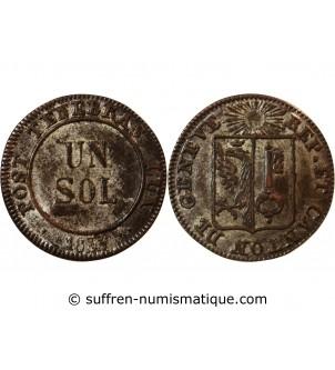 SUISSE, GENÈVE - 1 SOL 1833