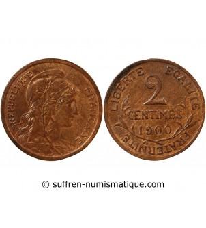 DUPUIS - 2 CENTIMES 1900