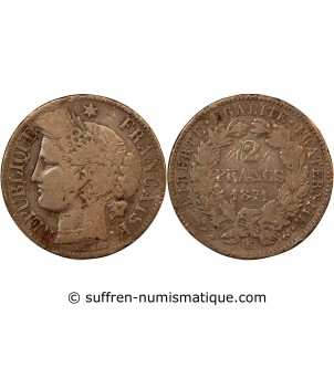 copy of CERES - 2 FRANCS...