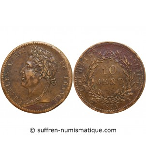 10 CENTIMES CHARLES X 1825...