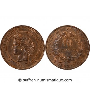 CERES - 10 CENTIMES 1897 A...