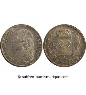 1/2 FRANC LOUIS XVIII  1823...
