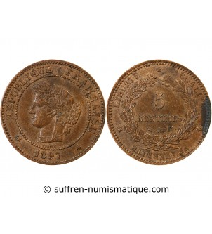 copy of CERES - 5 CENTIMES...