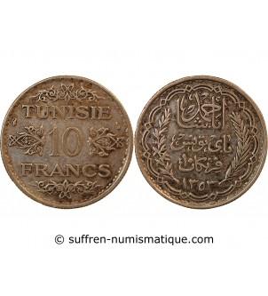 TUNISIE, AHMAD PASHA - 10...