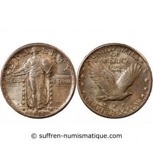 USA - 1/4 DOLLAR ARGENT...