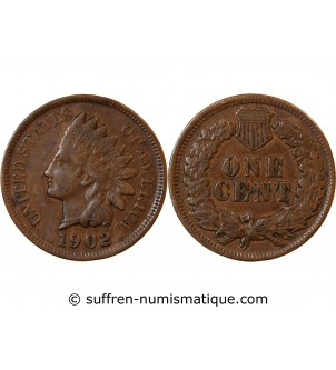 "USA - 1 CENT ""Indian Head""..."