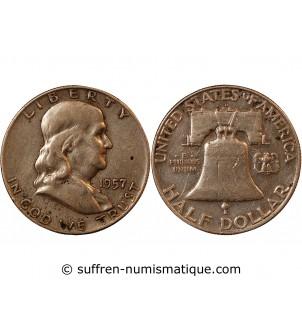 USA - 1/2 DOLLAR ARGENT...
