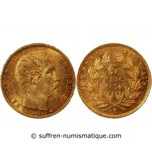 NAPOLEON III - 5 FRANCS OR...