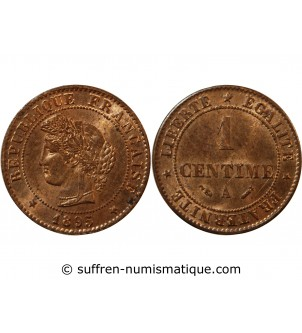 CERES - 1 CENTIME 1895 A PARIS