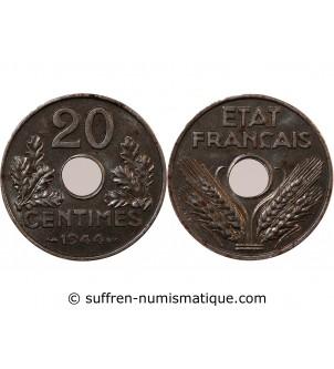 ETAT FRANCAIS - 20 CENTIMES...