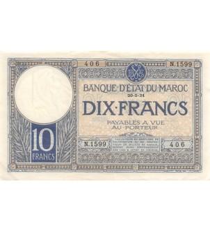 BANQUE D'ETAT DU MAROC - 10...